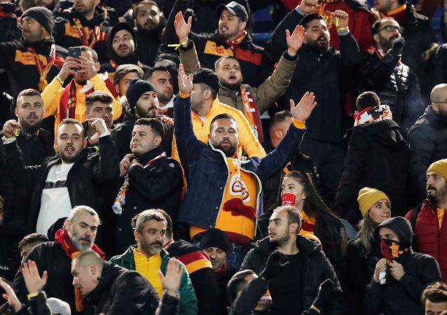 Tribunes du Parc des Princes avant le match PSG - Galatasaray, le 11 décembre 2019