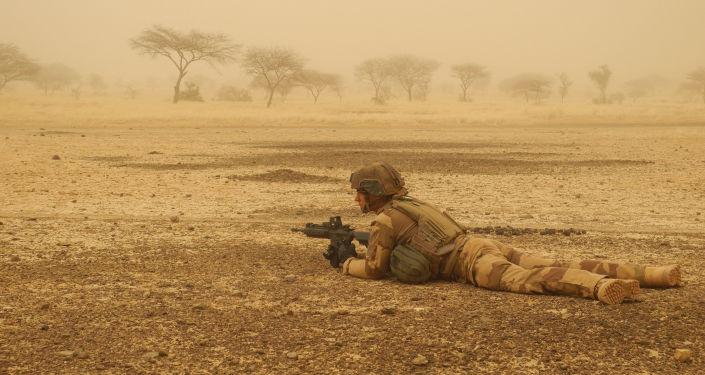 un soldat français, Opération Barkhane