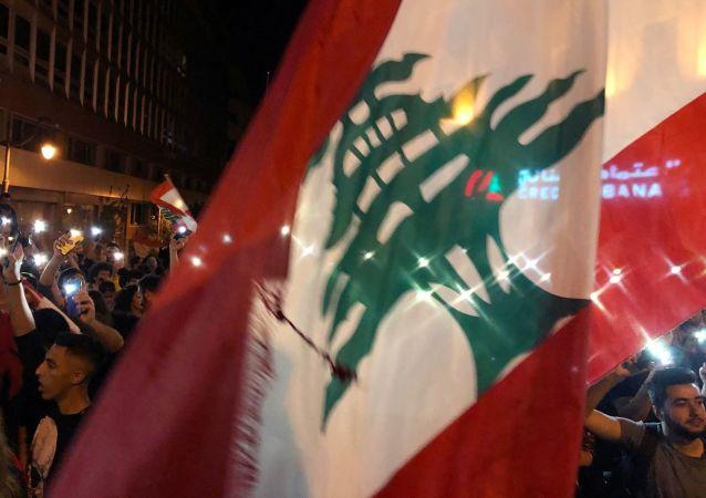 Manifestation anti-pouvoir à Beyrouth