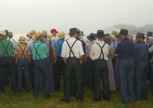 Rassemblement Amish