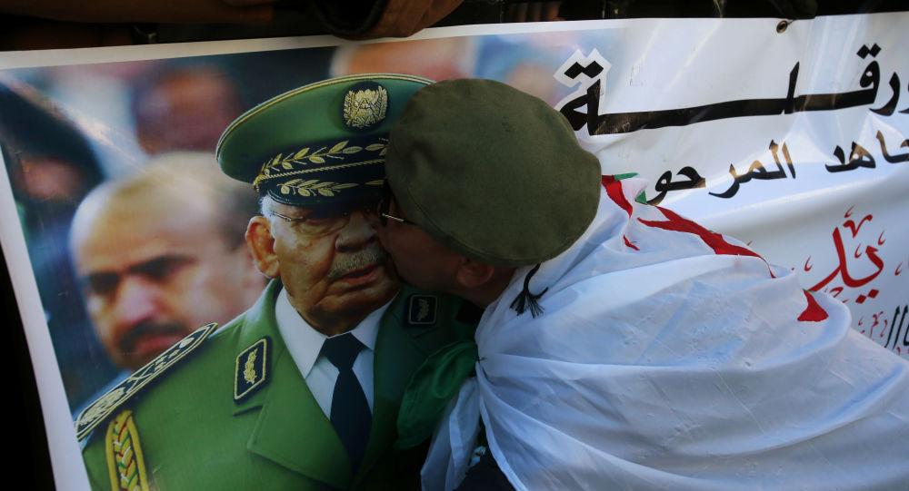 Les funérailles du général Ahmed Gaïd Salah à Alger
