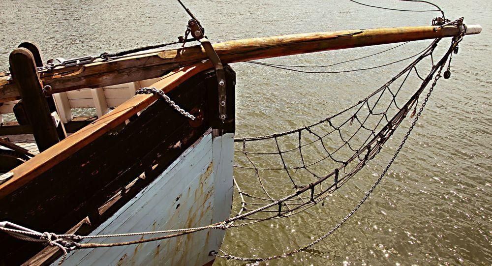 proue d'un bateau (image d'illustration)