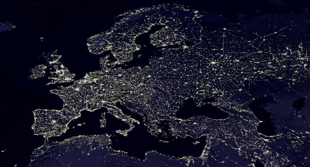 L'Europe vue de l'espace