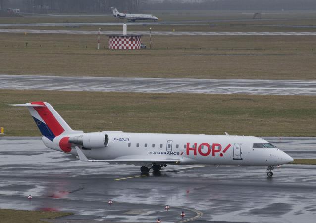 Un Bombardier CRJ100ER de Hop! Air France