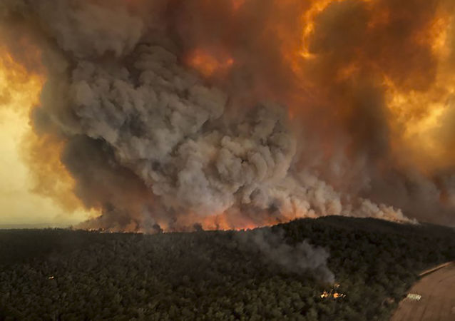 Les incendies en Australie