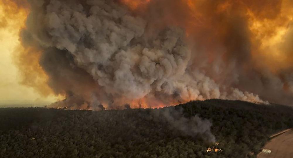 Les incendies en Australie