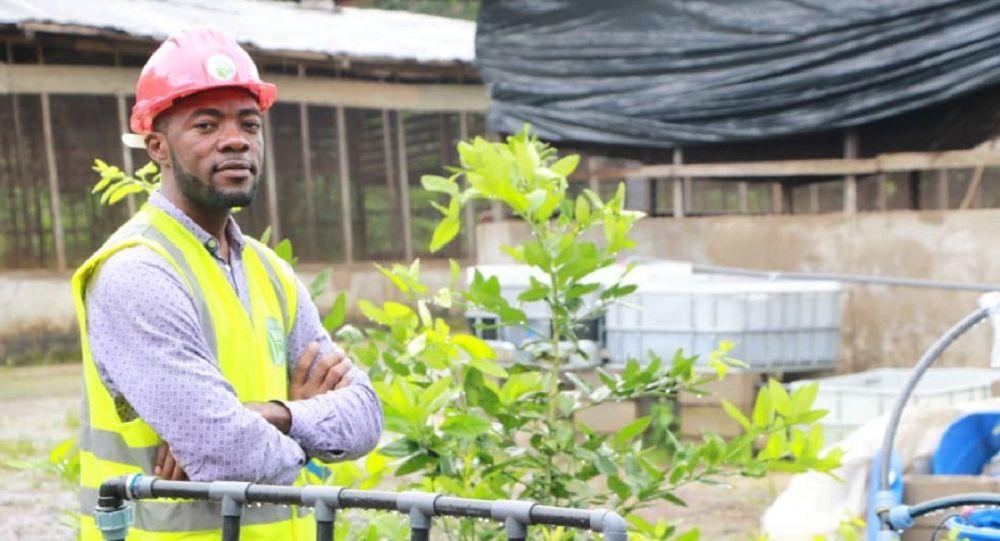 Flavien Kouatcha, promoteur de Save our agriculture