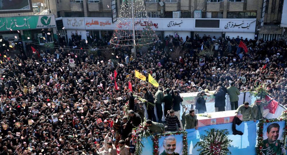Funérailles du général Soleimani à Kerman