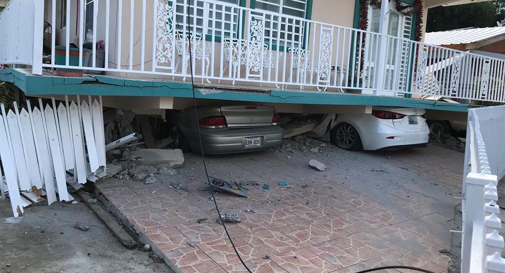 Des conséquences du séisme à Porto Rico le 6 janvier 2020