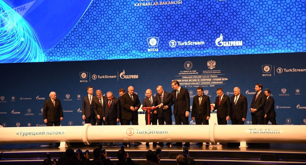 Lancement officiel du gazoduc Turkish Stream à Istanbul