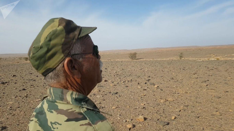 Mohamed Fadel, chef d'unité de l'armée sahraouie.