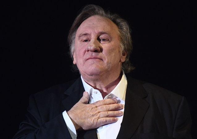 Gérard Depardieu à Moscou