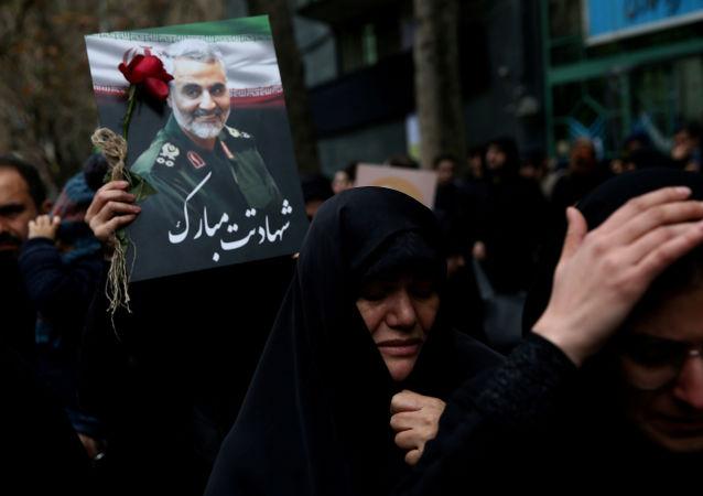 les obseques de Qassem Soleimani (archive)