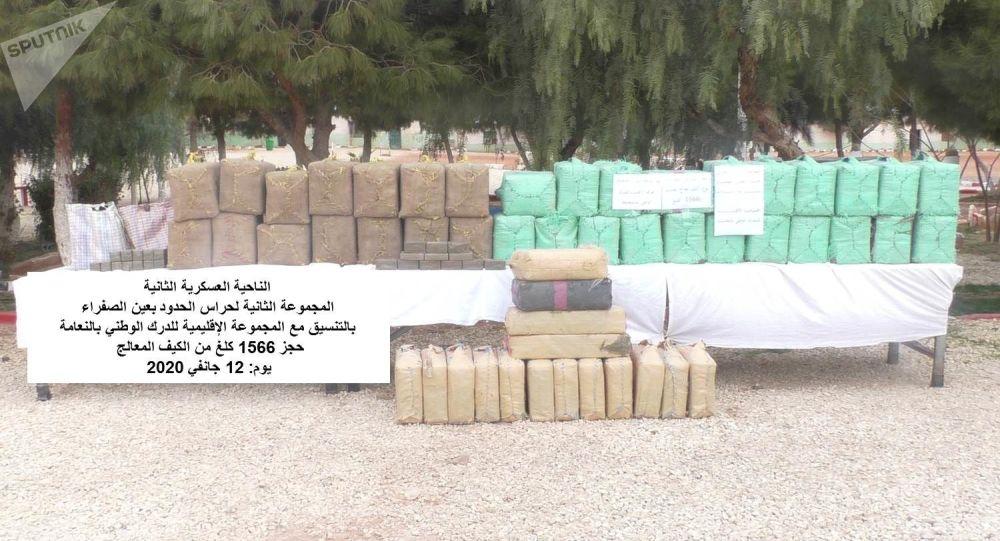 Près de 3 tonnes de cannabis saisies par l'Algérie à la frontière avec le Maroc en moins de 2 semaines - photos