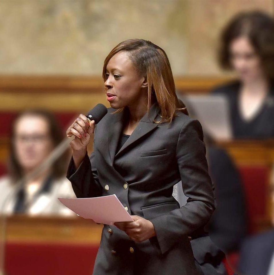 Sira Sylla, députée de la République en marche (LRM) est chargée des diasporas africaines et de la Francophonie.
