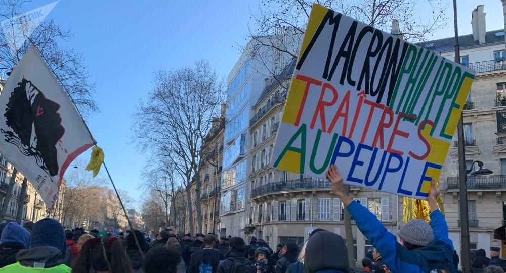 L'acte 62 des Gilets jaunes à Paris