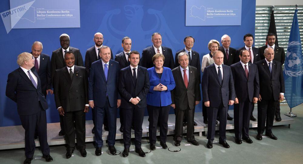 Conférence internationale de Berlin sur la paix en Libye
