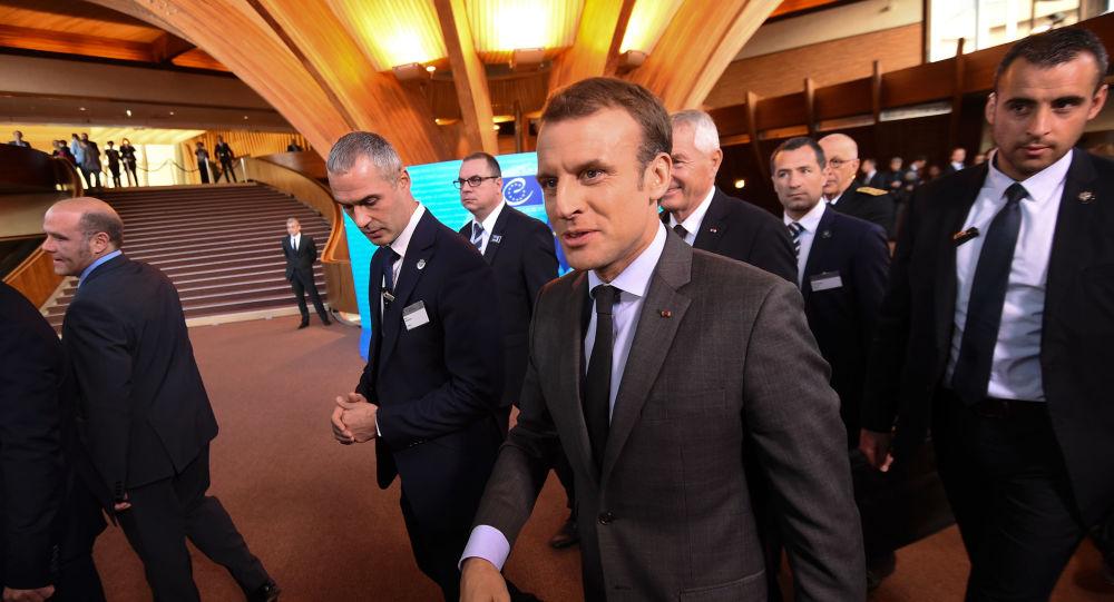 «Les précurseurs», ces policiers qui repèrent le terrain avant la venue du Président Macron