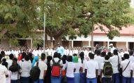 Police de proximité en Guinée, sensibilisation de jeunes collégiens