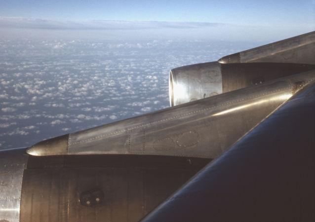 Un DC-8 en vol (image d'illustration)