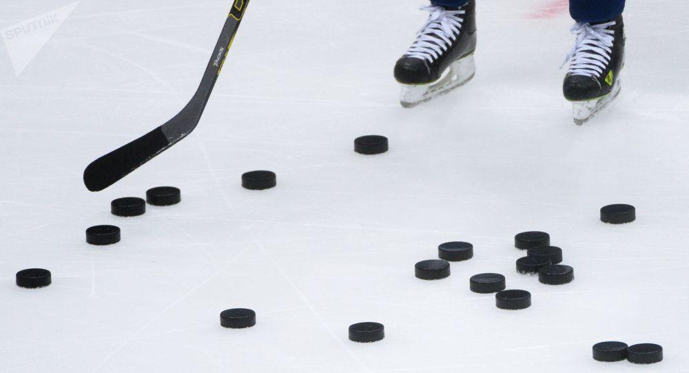 Kontinental Hockey League. Dynamo Moscow vs. SKA