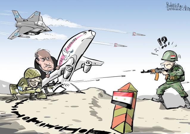 Israël mène des frappes aériennes et utilise un avion de ligne comme bouclier