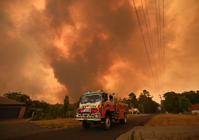 Incendies en Australie, près de Sydney, le 21 décembre 2019