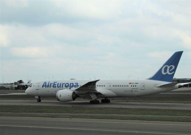Un Boeing 787 Dreamliner d'Air Europa