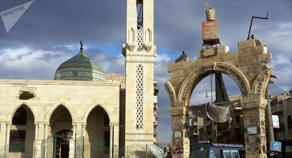 Un repaire de terroristes découvert sous un musée en Syrie - vidéo