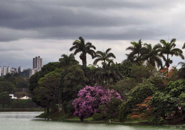 Lac artificiel de Pampulha, à Belo Horizonte
