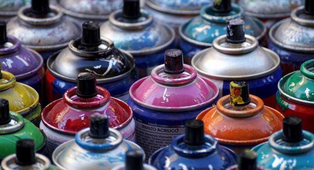 Bombe de peinture (image d'illustration)