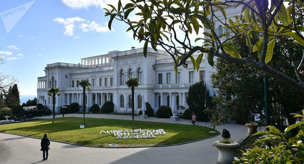 Palais de Livadia, en Crimée