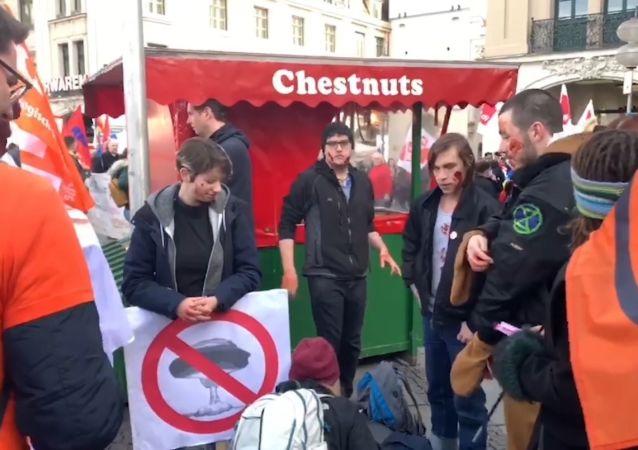 Manifestations contre la MSC: «Avant, ça s'appelait Conférence militaire: c'était honnête!»