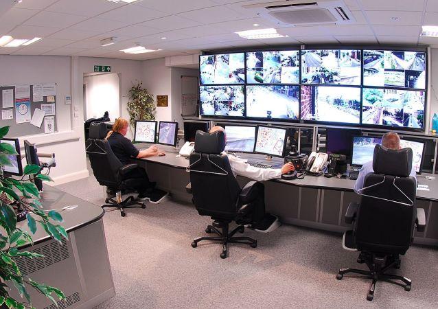 Écrans de vidéosurveillance