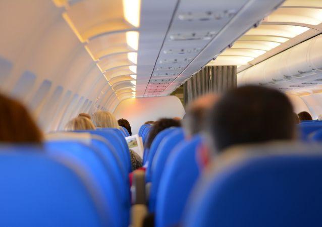 Des passagers d'avion (image d'illustration)