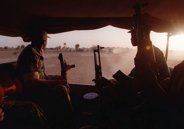 Soldats maliens, archives