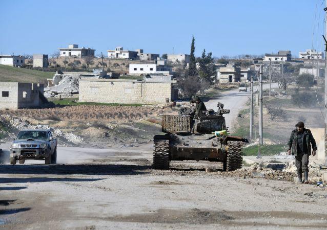 Des militaires syriens à Idlib