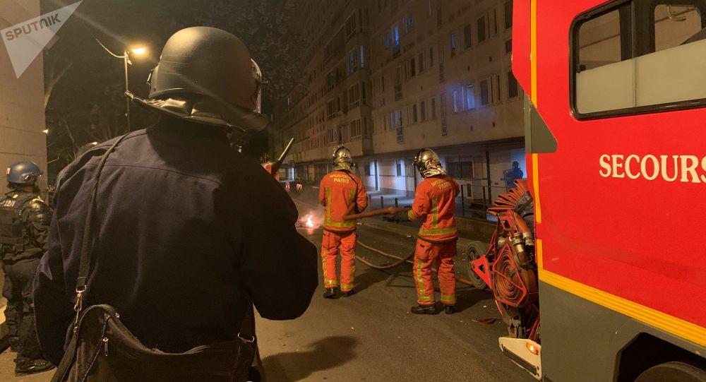 Un exercice de pompiers annulés à Lyon après la violente agression d'un soldat du feu