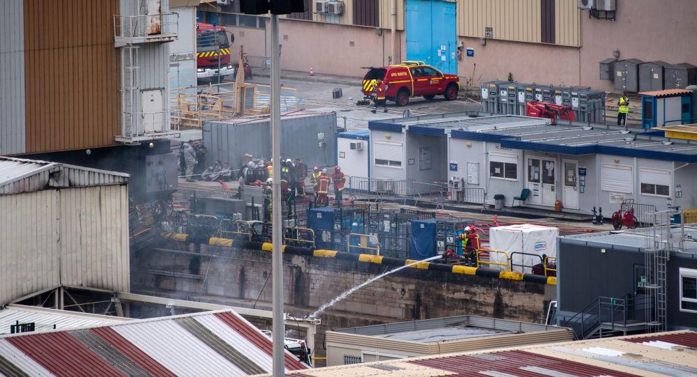Incendie d'un sous-marin à Toulon, Parly exclut tout «accident nucléaire»