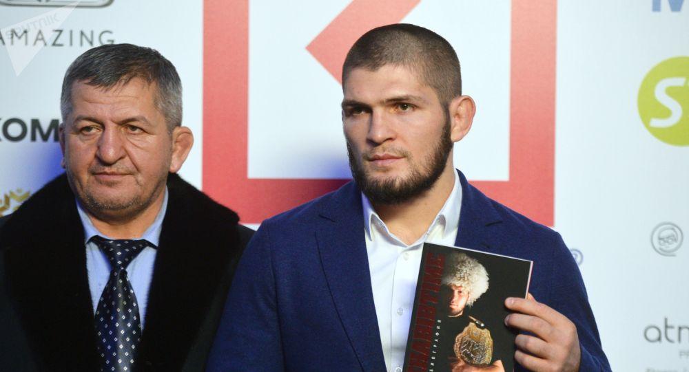 Le père du champion de l'UFC Khabib Nurmagomedov est mort du coronavirus