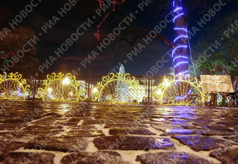 Санкт-Петербург готовится к празднованию Нового года