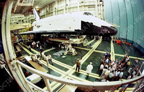 Орбитальный корабль Буран отмечает 20-летний юбилей полета