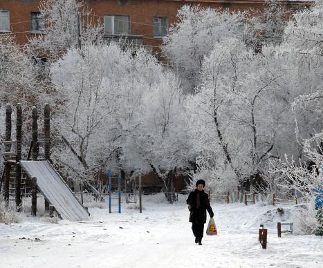 Морозы в Туве