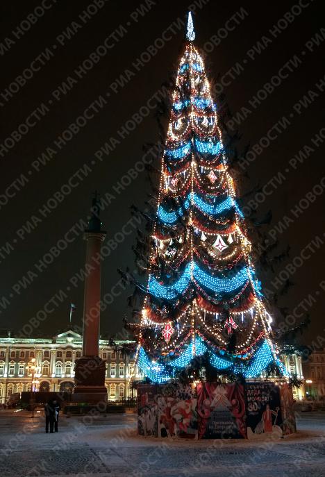 Главная елка на Дворцовой площади