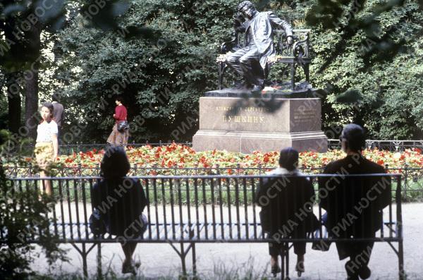 Памятник А.С.Пушкину в Лицейском саду