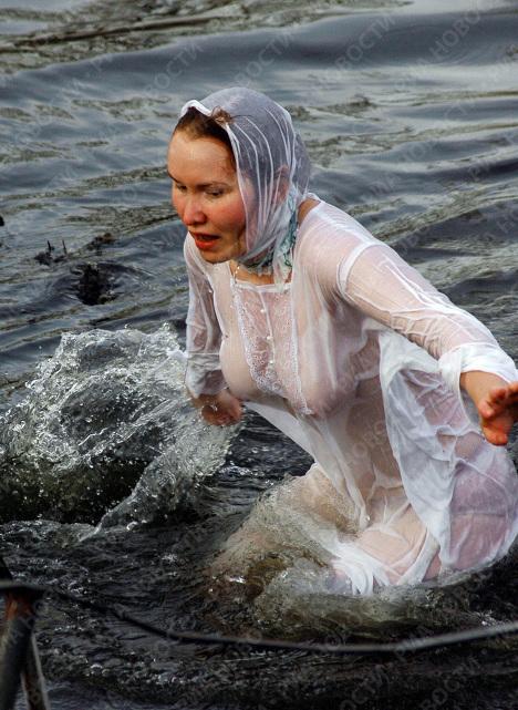 В праздник Крещения Господня