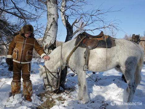 Poutine en Khakassie (sud de la Sibérie centrale)