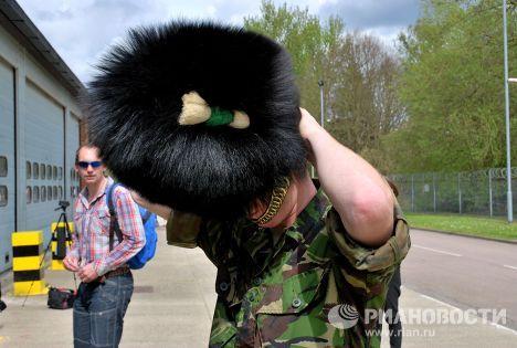 Défilé de la Victoire de Moscou: les préparatifs des Welsh Guards