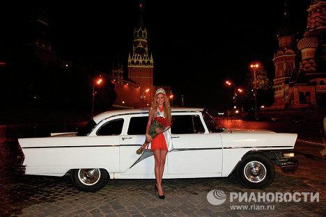 La plus belle fille de Moscou
