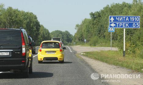 Vladimir Poutine franchira 2.000 km en Lada Kalina